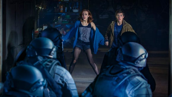 """Steven Spielberg is bringing the 1980s to the 2040s in """"Ready Player One"""" (March 30), starring Olivia Cooke and Tye Sheridan."""