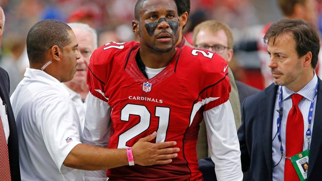 Cardinals cornerback Patrick Peterson cleared concussion tests despite being knocked out during last Sunday's game against the Eagles. He practiced with the team on Wednesday.