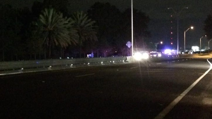 The Florida Highway Patrol responded to a serious crash at the foot of the Mathews Bridge early Wednesday morning. Investigators tell First Coast News a motorcyclist crashed in the eastbound lanes just after 2:30 a.m.