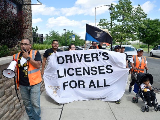Immigrant advocates continue walk for driver's licenses for undocumented