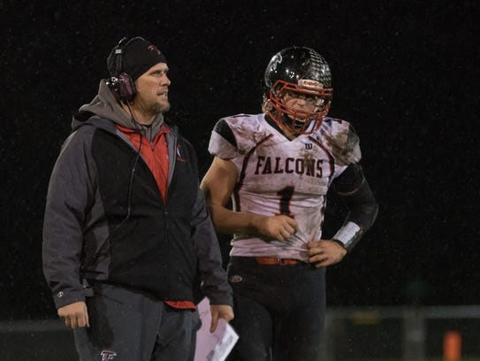 Abbotsford coach Jake Knapmiller has led the Falcons into the Division 7 state semifinals, and running back Ean Rau is a big reason the team has advanced that far.