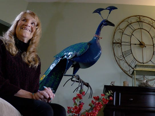 Toni Ann DiRienzo, 74, is shown during an interview