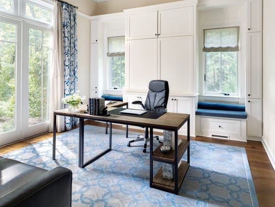 Office designed by Ruth Richards, Interiors at Woodside