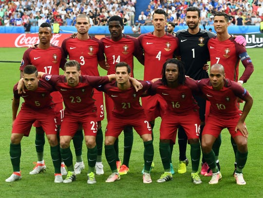 La alineación que se coronó en la Euro Copa 2016 podría