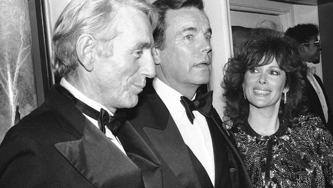 """Rod McKuen, pictured here at a party for """"Night of 100 Stars II,"""" in New York on Feb. 18, 1985, died Thursday. He was 81."""