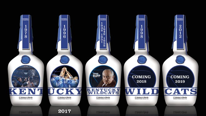 A series of commemorative UK bottles released by Maker's Mark between 2015 and 2019.