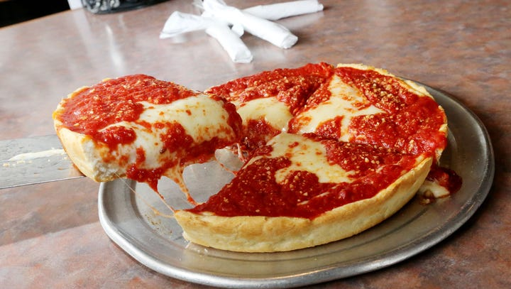Here's where you can find Chicago-style deep-dish pizza in the Des Moines metro