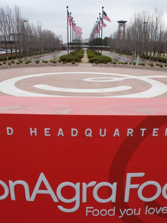 ConAgra shares rise on plan to sell off private brands