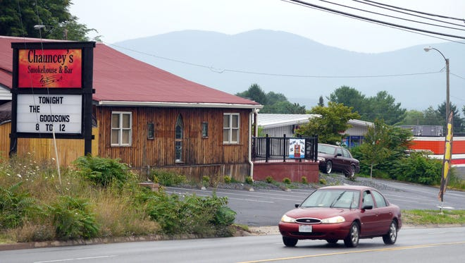 Saturday near Chauncey's Smokehouse and Bar on U.S. 250 west of downtown Waynesboro where a fihgt brokeout at 12:30am July 19,2014. A man was also struck by a hit-and-run driver.