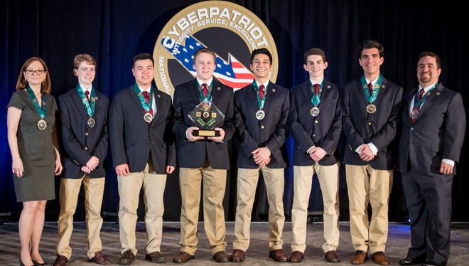 Red Bank Regional High School's Team Maroon took second in the nation in the prestigious CyberPatriot competition.