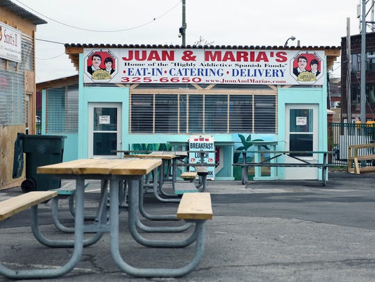 Juan & Maria's Empanada Stop is one of the food vendors