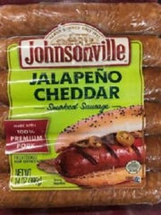"These 14-oz. plastic packages containing 6 pieces of ""JALAPEÑO CHEDDAR Smoked Sausage"" with Best By date 04/04/2018 and Batch ID 1001124486 or 1001124487 are being recalled due to possible contamination."