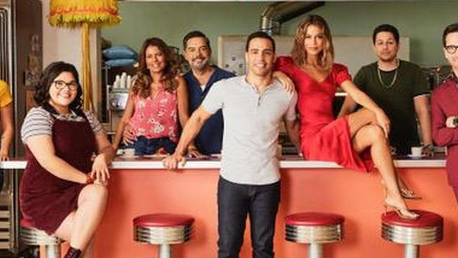 """""""The Baker and the Beauty"""" (10 p.m., ABC TV-PG) offers scenery, good-looking people and a preposterous look at celebrity culture in the age of social media that would not seem out of place in a Hallmark movie."""