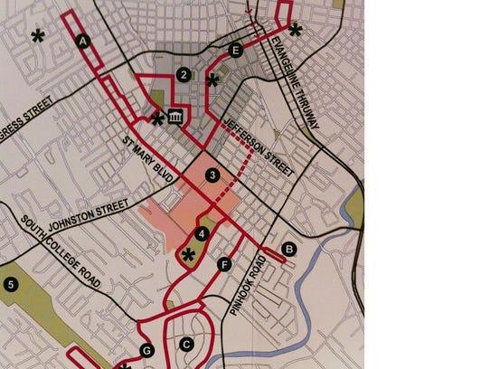 Azalea Trail Map