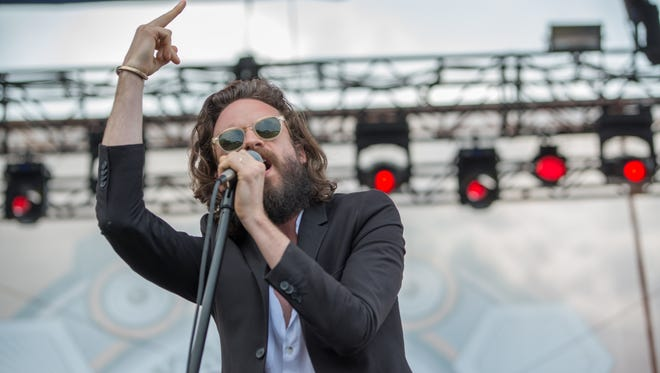 Father John Misty in concert.