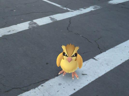 Pokemon on Park Ave