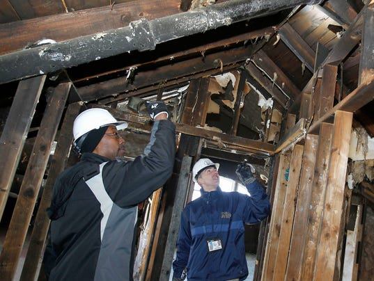 Inspecting foreclosed property
