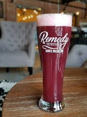 "Remedy Brewing Co. in Sioux Falls offers an opaque beer called ""Skolberry."""