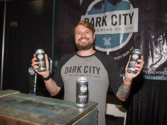 Paul Coar of Dark City Brewery in Asbury Park.