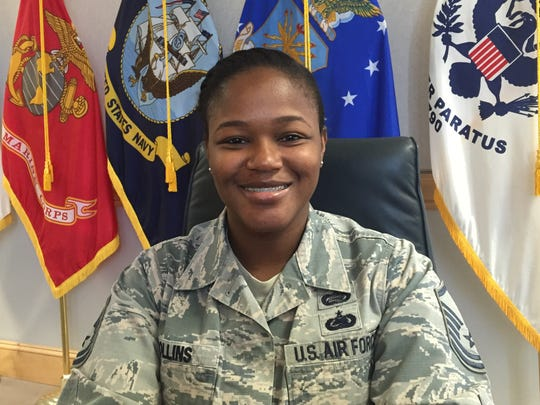 Air Force Master Sgt. LaJoyce Collins.