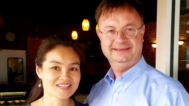 On May 21 and 22, NJFO Director David Wroe will share the podium with his wife, Shuang Guo, a conductor herself who has led the Berlin Symphony Orchestra and the Qingdao Philharmonic in China, among others.