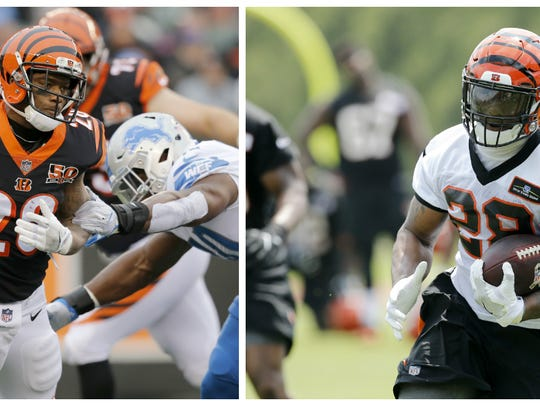 Cincinnati Bengals running back Joe Mixon has changed