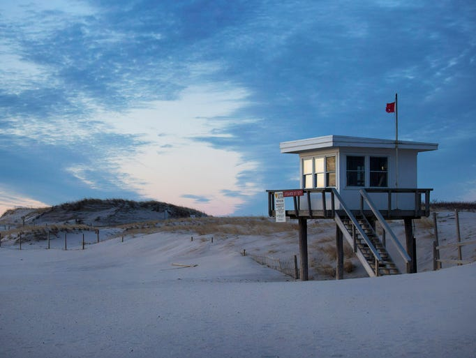 Shaped by storm and tides, Island Beach State Park