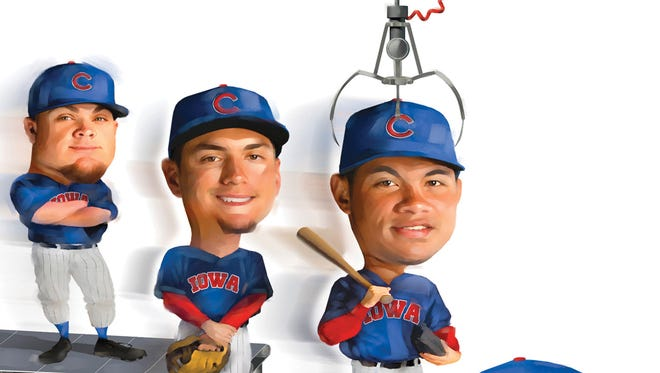 The Chicago Cubs have turned into a factory of prospects, where six of Baseball America's top-30 prospects by organization will be on the roster for the Iowa Cubs to begin the 2016 season.