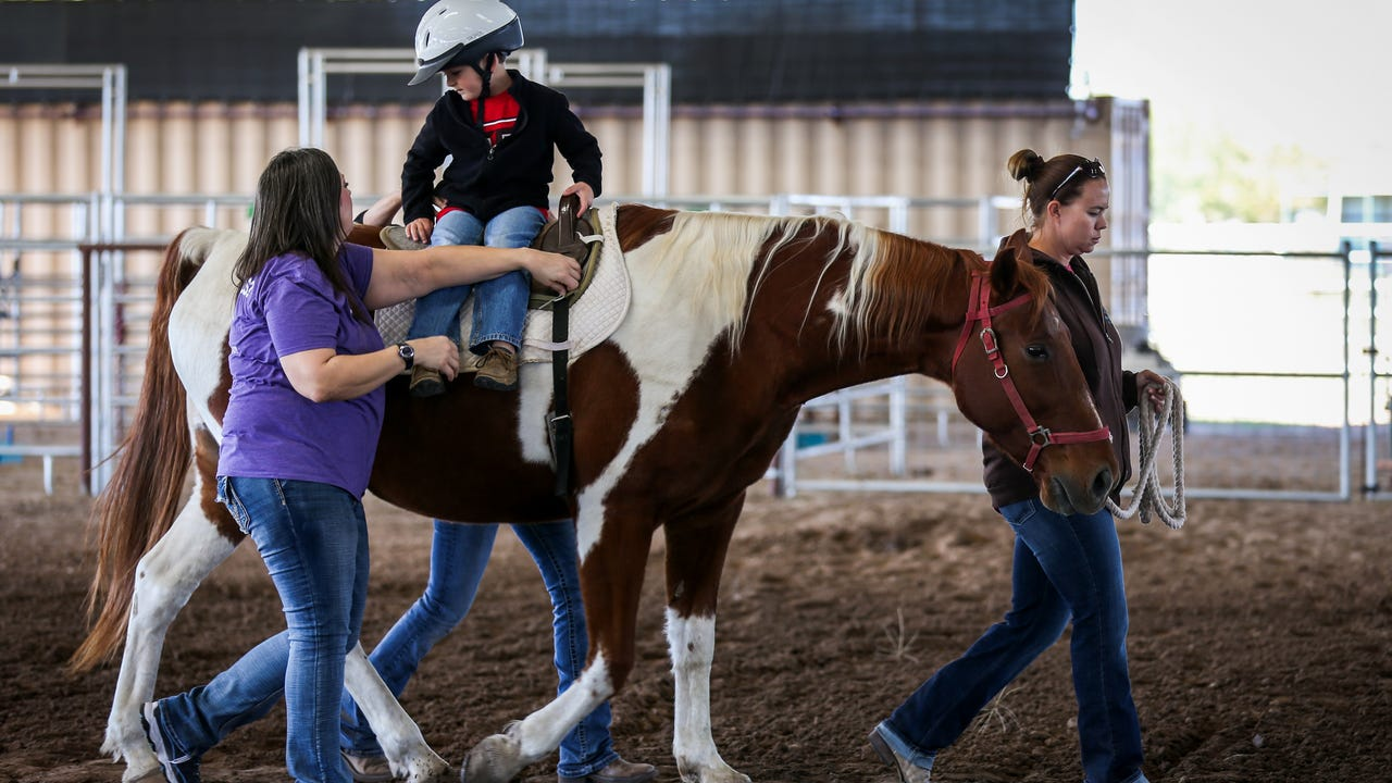 Sonrisas Trails is a non-profit that provides therapeutic riding programs for children and adults with physical, mental and emotional challenges.