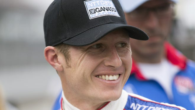 Ryan Briscoe is happy to return to Chip Ganassi's IndyCar Series team. He drove for it in this year's Indianapolis 500.