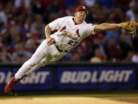 2002 photo -- Jasper's Scott Rolen, a former big-league
