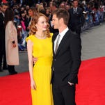 A 'Spidey' love story: Emma Stone and Andrew Garfied