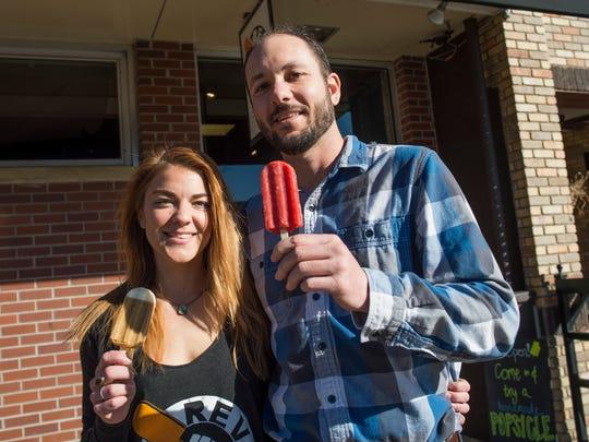 Rebecca Barringer and Jarod Dunn together started Revolution