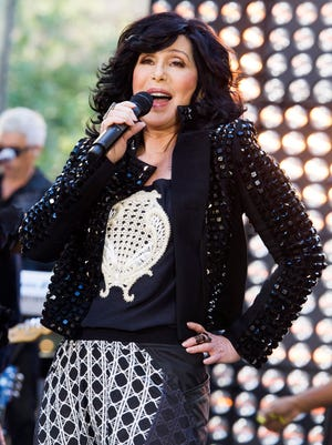 Cher performs on NBC's 'Today' show Sept. 23 in New York.