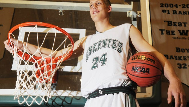 Christ School alum Mason Plumlee now plays NBA basketball for the Brooklyn Nets.