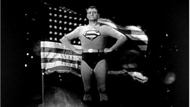 """George Reeves was the Man of Steel in TV's """"Adventures of Superman."""""""