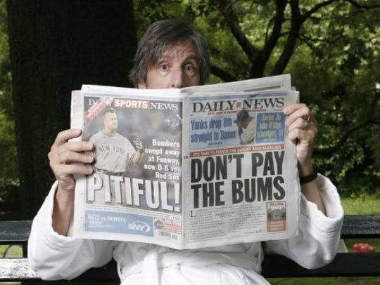 New Yorker satirist and comedian Andy Borowitz comes