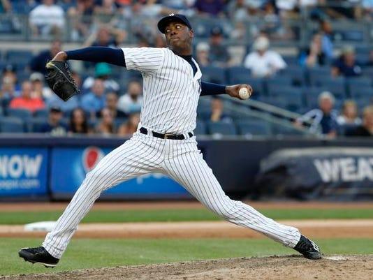 MLB: San Francisco Giants at New York Yankees