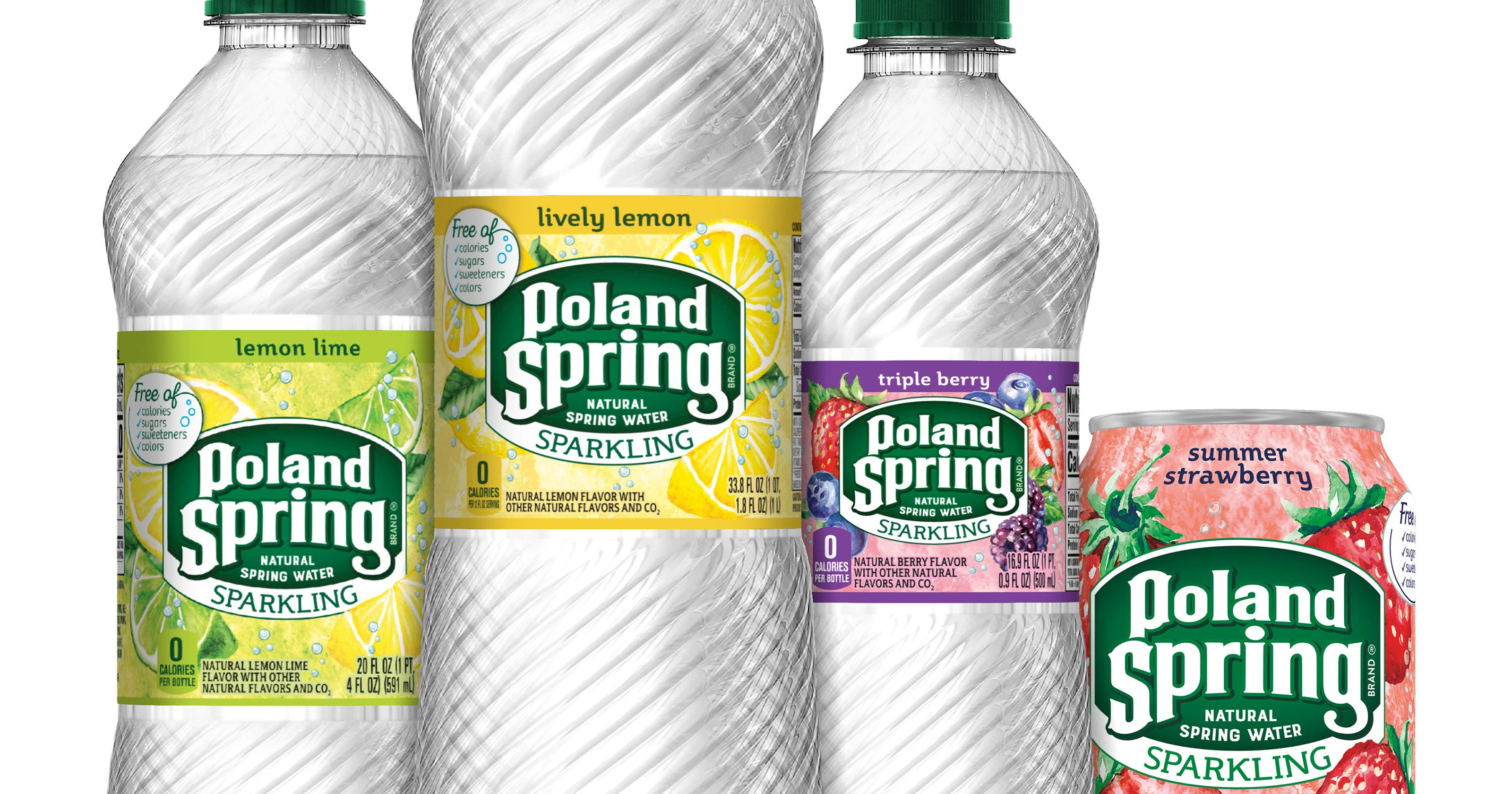 Flavored Sparkling Water Sales Are Bubbling Up