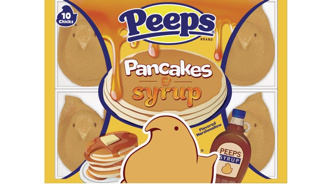 Pancake and syrup flavored Peeps will be on shelves at some stores, including Kroger locations. If the tests go well, the company will be bringing them back next Easter.