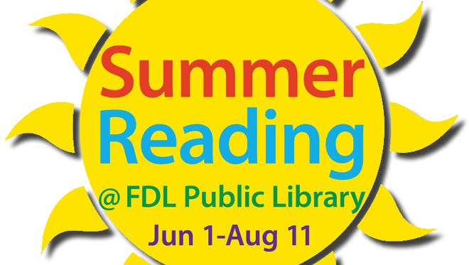 Summer Reading @ the Library runs June 1 to Aug. 11, and all ages can earn rewards for time spent reading.