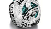 Federal authorities say they have intercepted a shipment of 108 phony replica Super Bowl rings for the Eagles and other teams.