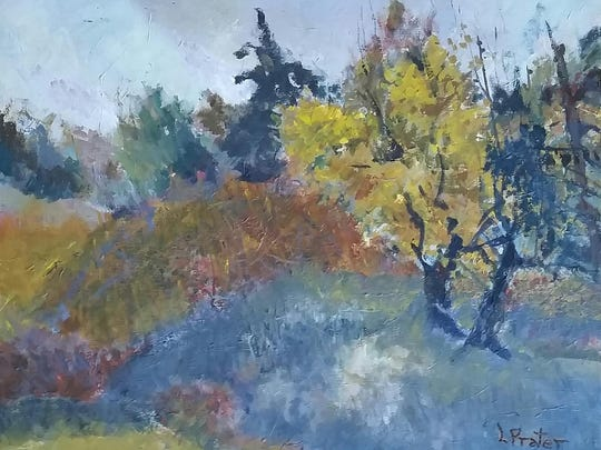 """""""Autumn in Greene County"""" by Louise Prater."""