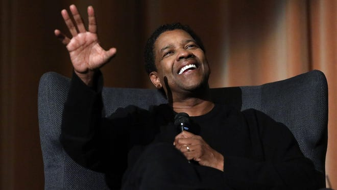 Golden Globe nominee Denzel Washington attends a Q and A for 'Fences' at The Curzon Mayfair on Dec. 12, in London, England.