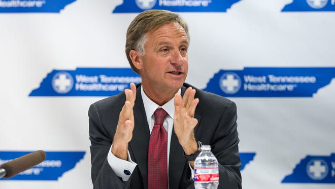Republican Gov. Bill Haslam of Tennessee.