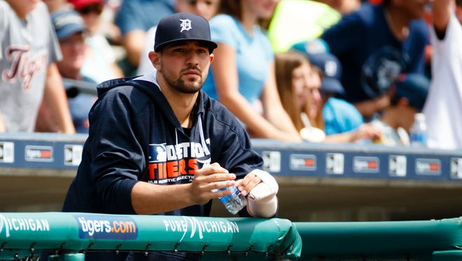 Tigers third baseman Nick Castellanos.
