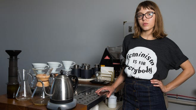 Millennials like Autumn Hensiek, a 21-year-old Texas A&M University-Corpus Christi student and barista at Eleanor's Coffee Bar, could help decide the election. She's among about 14,700 millennials registered to vote in Nueces County.