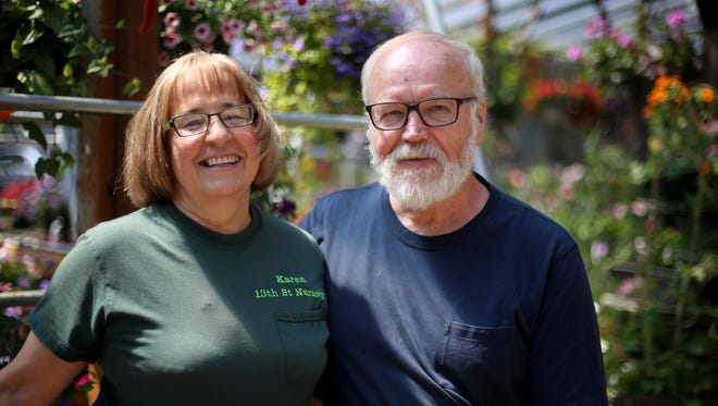 Owners of the 13th Street Nursery, Karen and Glenn Maki, are retiring this year.