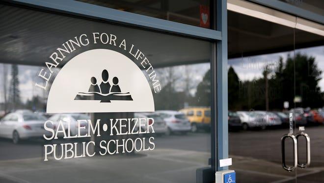 The Salem-Keizer Public Schools Lancaster Professional Center in Salem on Thursday, Feb. 15, 2018.