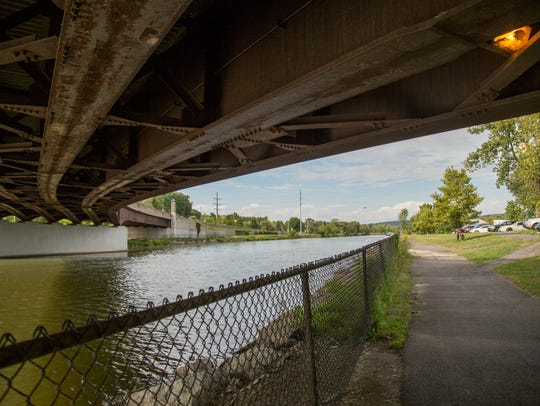 The play takes listeners along the inlet, under bridges,